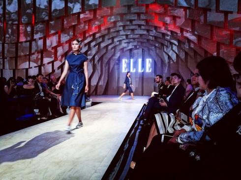 Sân khấu ELLE Fashion Journey 2016 - Ảnh: Ho Ny
