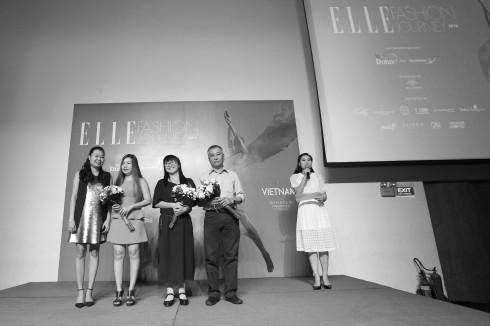 Toạ đàm ngày 1/10/2016 tại ELLE Fashion Journey 2016 - ElleVn