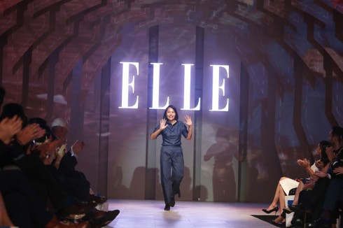 NTK Dieu Anh ELLE Fashion show 2016 1