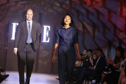 Nhà Thiết Kế Diệu Anh và Ông Jeremy Rowe - Đại diện đến từ thương hiệu Dulux