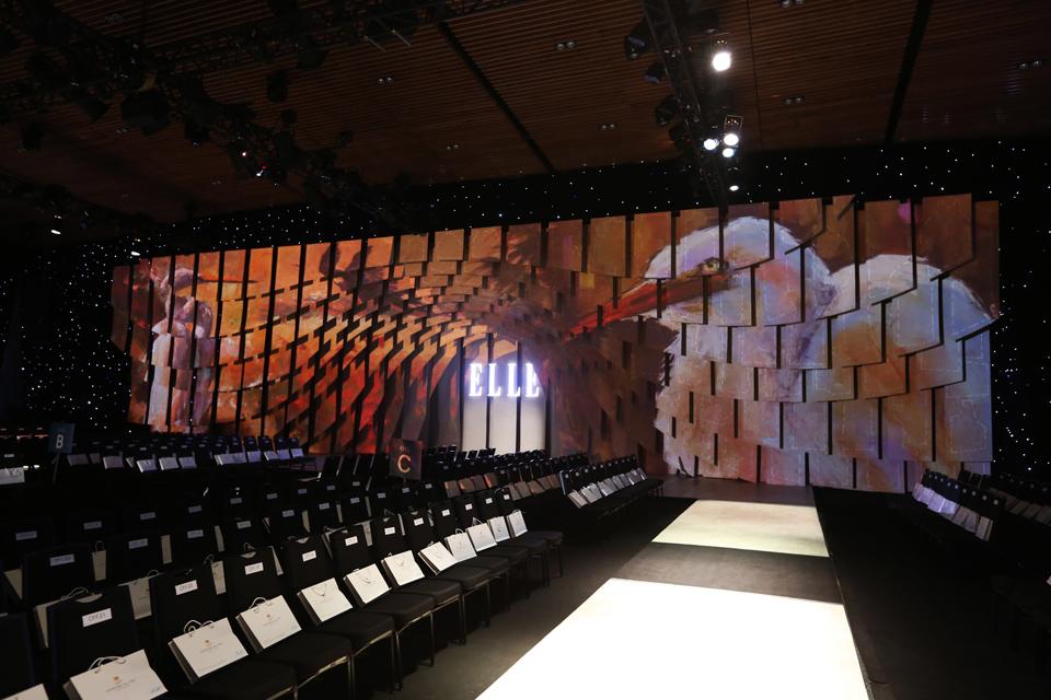 Sân khấu ELLE Fashion Journey 2016