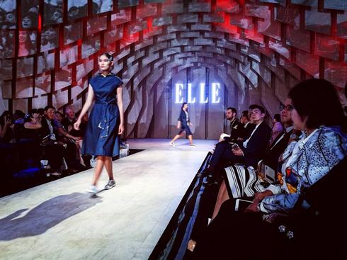 """Thông điệp """"Xanh Denim"""" tại ELLE Fashion Journey 2016"""