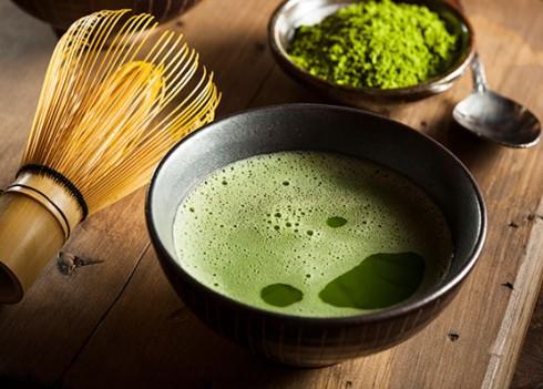 công dụng của bột trà xanh