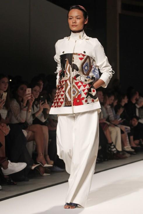Thùy Trang tại Paris Fashion Week Xuân-Hè 2017