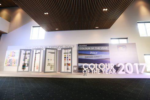 Khu trưng bày của thương hiệu Dulux