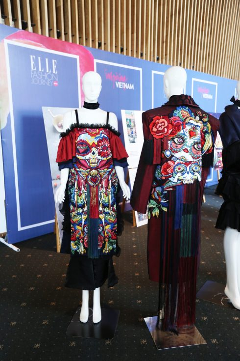 Đồ án thời trang của bạn Bành Nhật Duy – Đại học Hoa Sen <br/>Khu vực triển lãm ấn tượng ELLE Exhibition Vietnam 2016 - ELLE VN