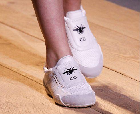 Chi tiết đôi sneakers của Dior