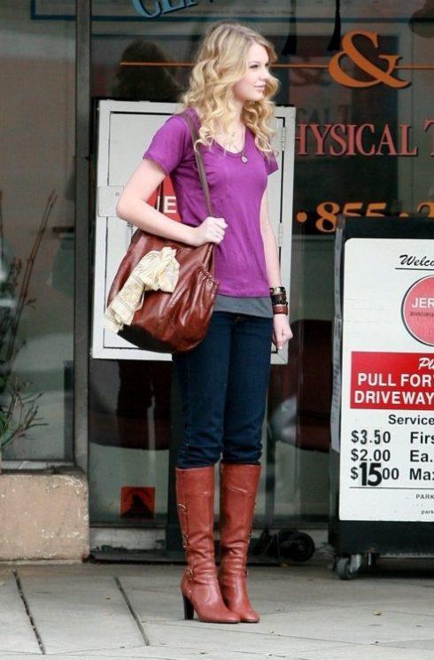 Boot cao bồi vẫn luôn là item được Taylor đặc biệt yêu thích
