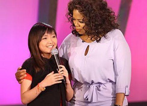 Charice Pempengco xuất hiện trong chương trình của Oprah