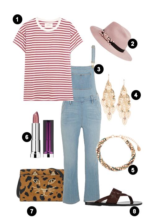 ELLE Style Calendar: Quần jeans, áo thun (10/10 - 16/10)