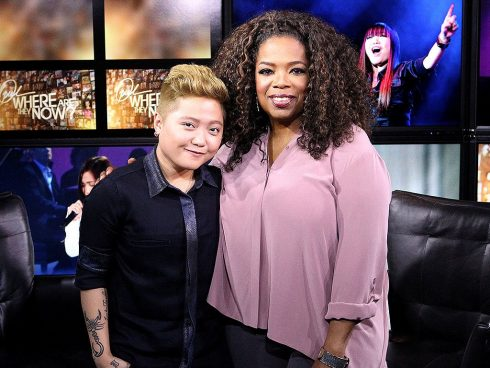 charice pempengco quay trở lại chương trình Oprah với diện mạo nam tính