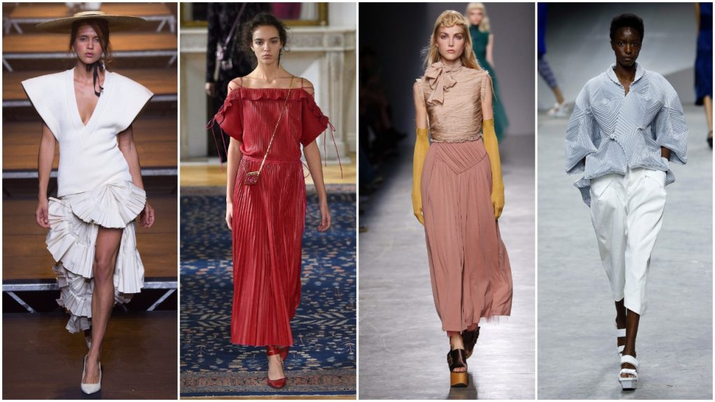 Những thiết kế xếp li độc đáo từ Tuần lễ thời trang Paris