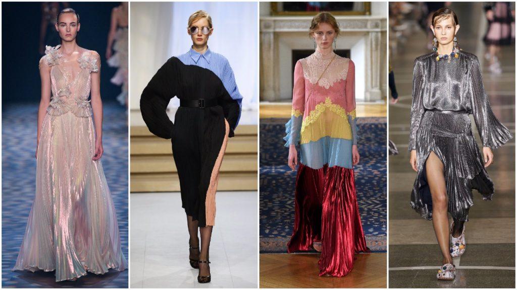 Những chiếc váy xếp li cho mùa Xuân-Hè 2017