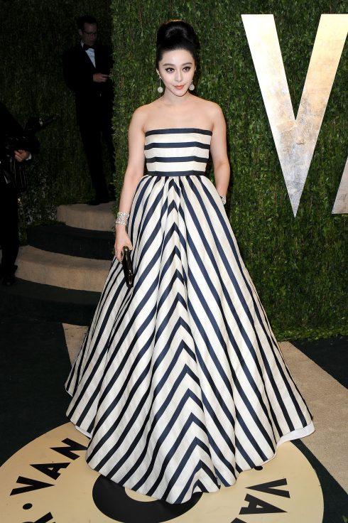 Tại bữa tiệc Vanity Fair Oscar năm 2013