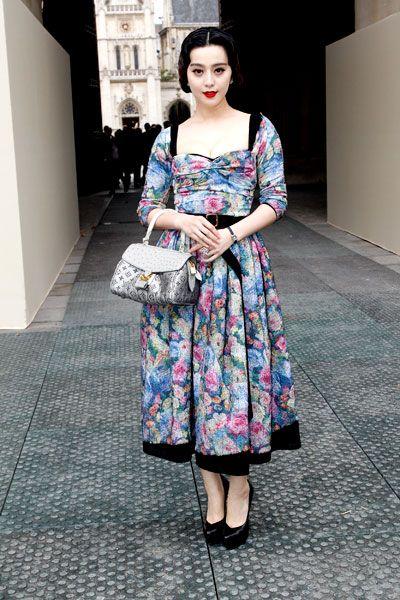Hình ảnh cổ điển tiêu biểu của người phụ nữ Trung Quốc được Phạm Băng Băng khắc hoạ hết sức tài tình qua phong cách thời trang