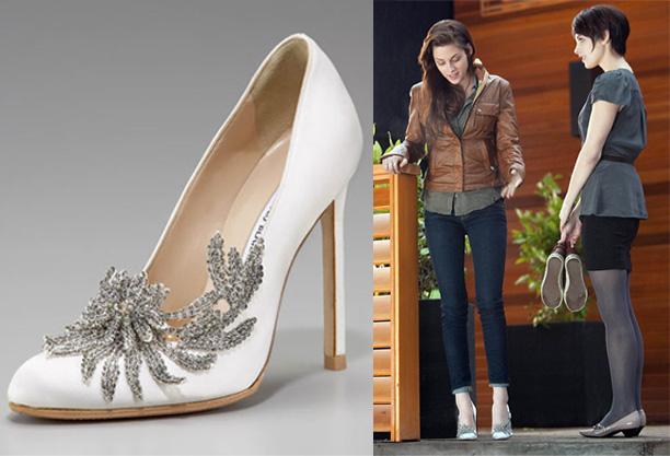Đôi giày cưới Thiên Nga xuất hiện trong phim Chạng Vạng.
