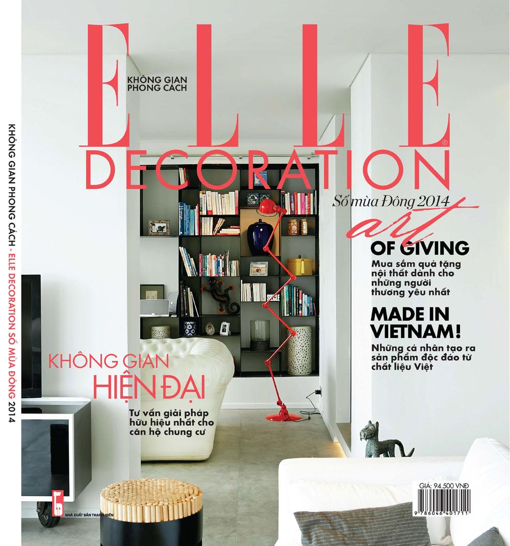 Bìa tạp chí ELLE Decoration.