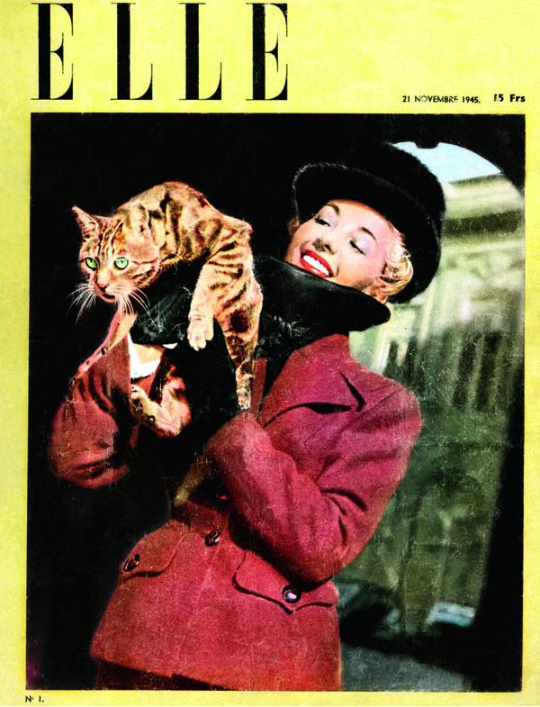 Ấn phẩm đầu tiên trên thế giới của tạp chí ELLE.