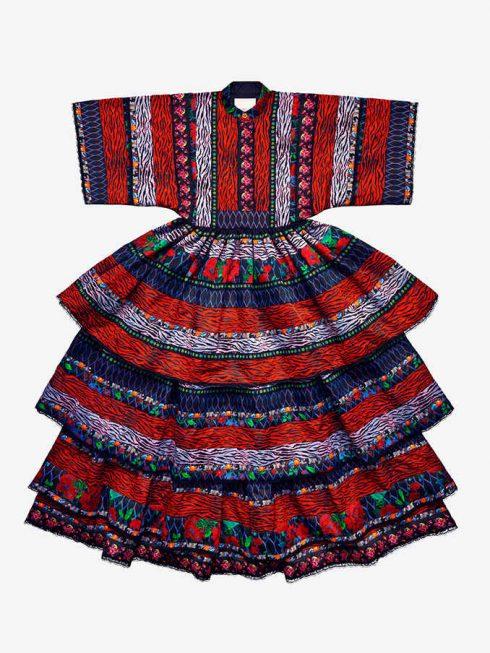 Chiếc váy thổ cẩm Kenzo x H&M có giá đắt nhất BST £399.99