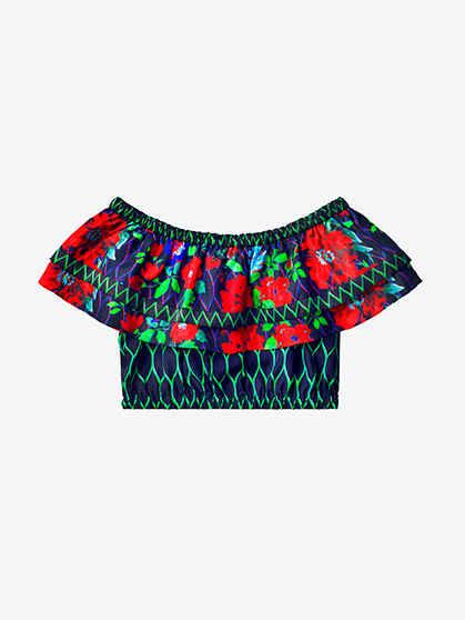Áo bralette siêu hót của Kenzo x H&M giá £39.99