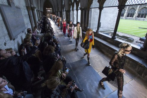 GUCCI CRUISE 2017 LONDON 02/06/2016 WESTMINSTER ABBEY