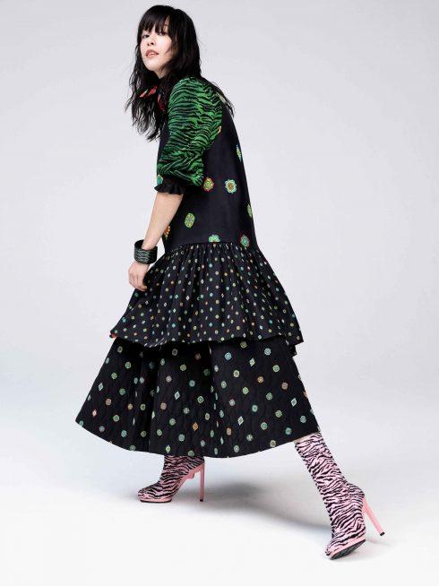 Một chiếc váy dự đoán cũng sẽ rất hot trong BST Kenzo x H&M £149.99