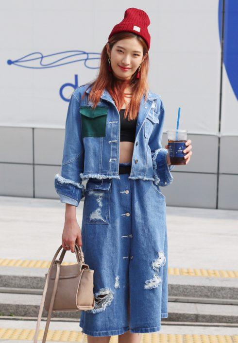 váy jeans