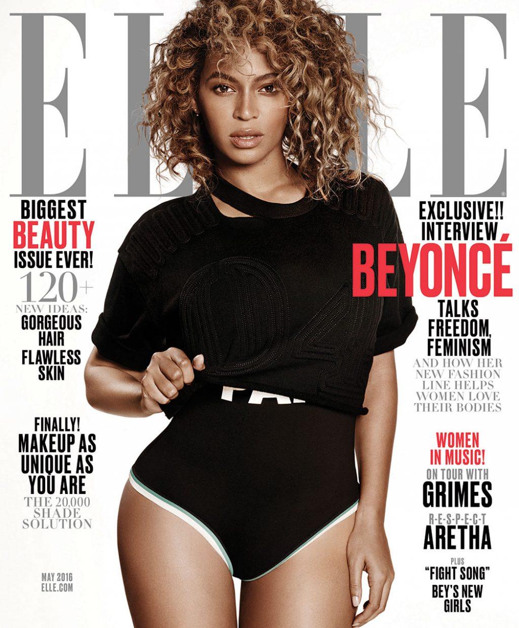 bìa tạp chí ELLE Mỹ - 04