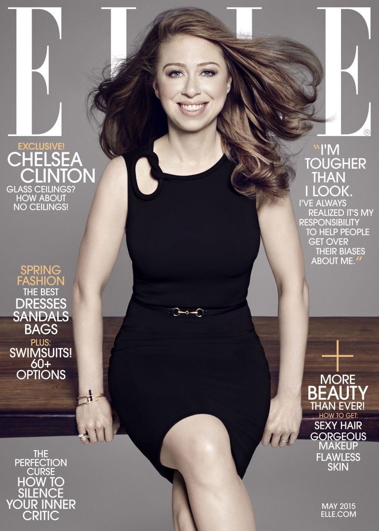 bìa tạp chí ELLE Mỹ - 03