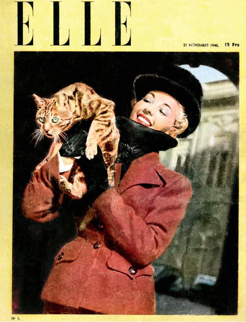 Tờ tạp chí ELLE đầu tiên.