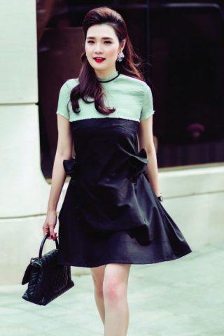 Phong cách thời trang thanh lịch của cô nàng Lương Quỳnh Thư