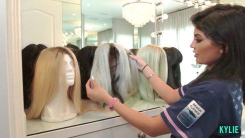 tóc giả nữ - Kylie Jenner