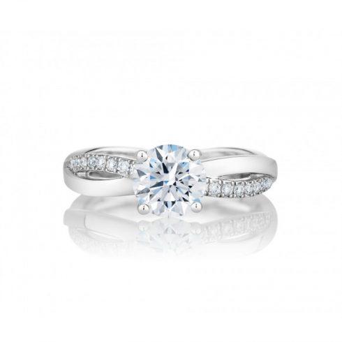 Mẫu nhẫn kim cương đẹp DeBeers
