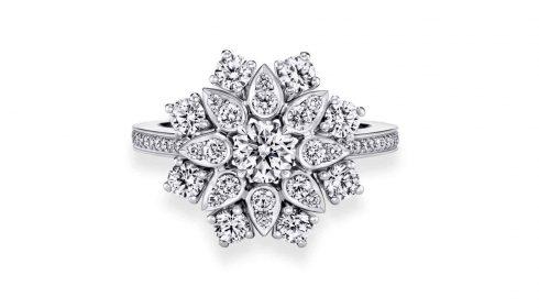 Mẫu nhẫn kim cương đẹp Harry Winston