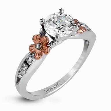Mẫu nhẫn kim cương đẹp Simon G.