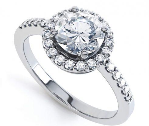Mẫu nhẫn kim cương đẹp Tiffany & Co