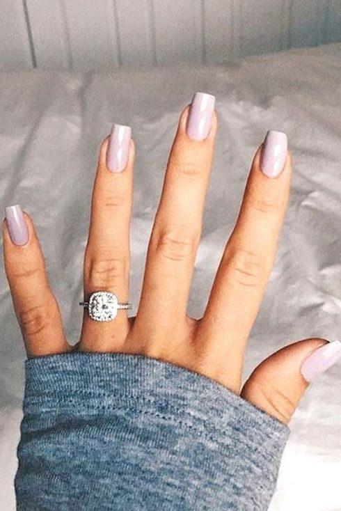 nhẫn kim cương đẹp hình vuông