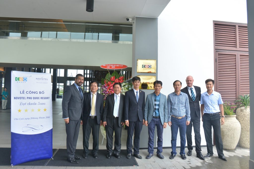 Khu nghỉ dưỡng Novotel Phú Quốc chính thức nhận xếp hạng năm sao - 01
