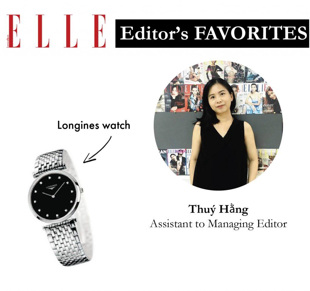 Item yêu thích tạo nên phong cách thời trang của các biên tập viên ELLE VN