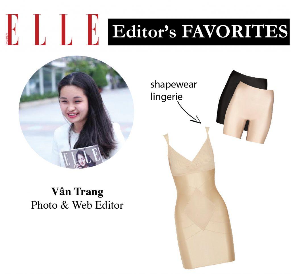 Item yêu thích tạo nên phong cách thời trang của các biên tập viên ELLE