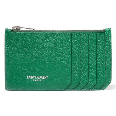 Ví đựng card Saint Laurent Textured-Leather