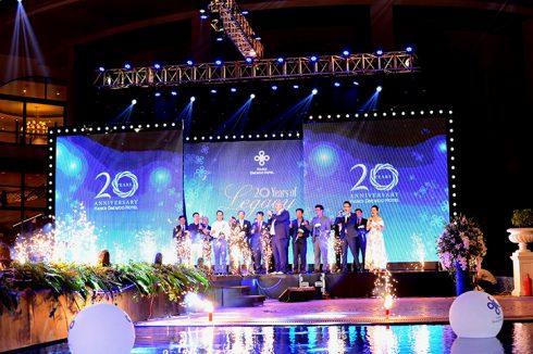 20 năm là chặng đường đầy tự hào của khách sạn Hà Nội Daewoo trở thành khách sạn biểu tượng của thành phố Hà Nội và di sản tinh thần của người dân thủ đô.