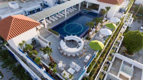 Risemount Resort hiện lên đẹp tựa một tòa lâu đài trong thần thoại giữa dải đất miền Trung nắng và gió.