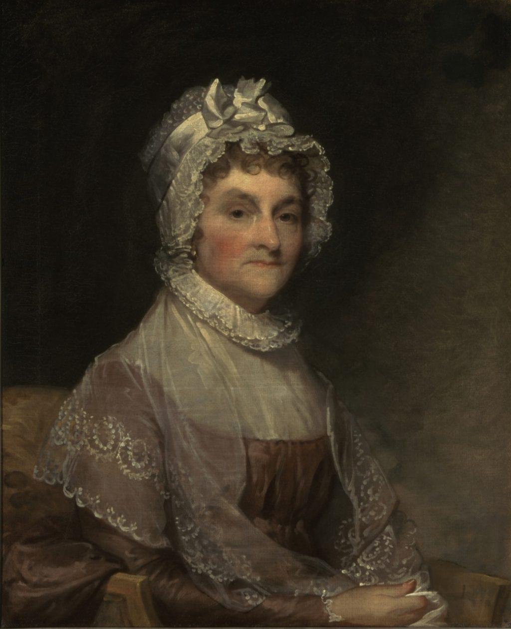 Đệ nhất Phu nhân Abigail Adams.