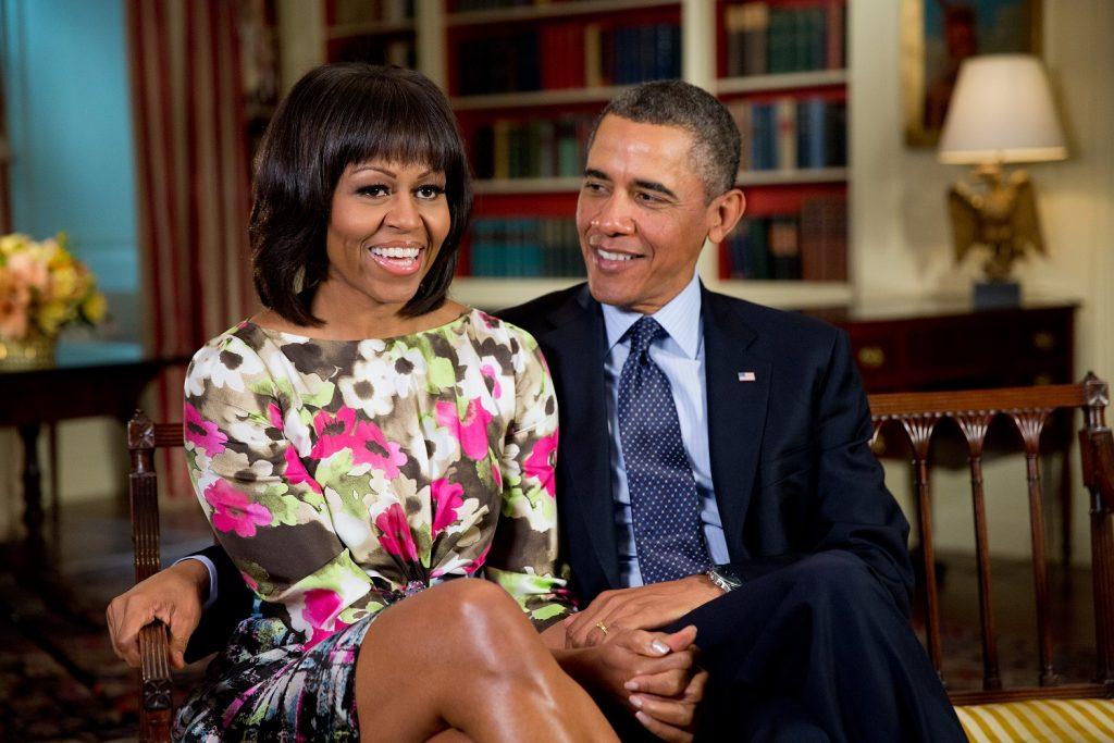 Đệ nhất Phu nhân Michelle Obama.