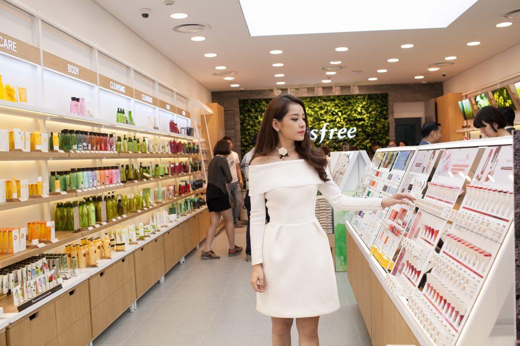 Khai trương cửa hàng thương hiệu mỹ phẩm Innisfree -02