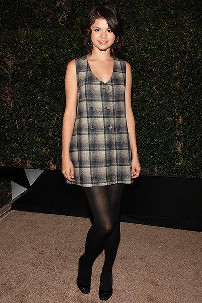 Selena với vẻ ngoài dễ thương tại LA Fashion Week