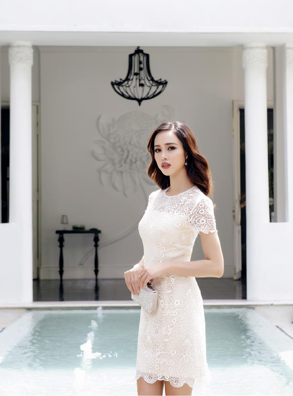 Vũ Ngọc Anh mặc thiết kế Lê Thanh Hòa - 03