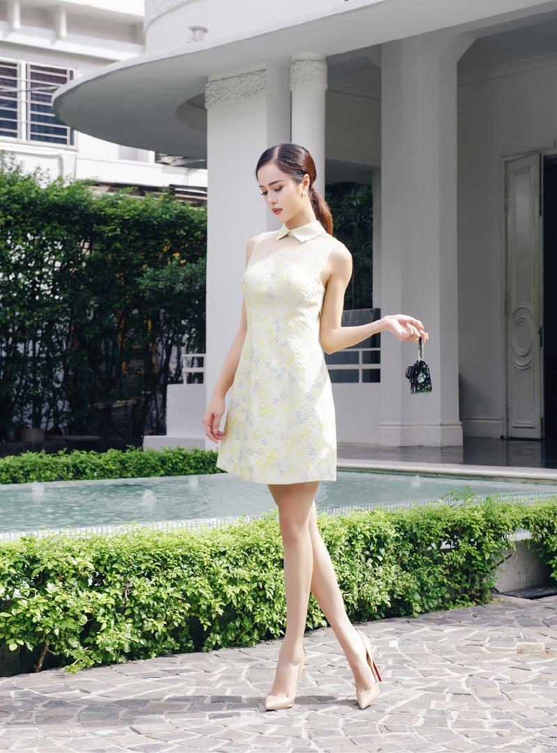 Vũ Ngọc Anh mặc thiết kế Lê Thanh Hòa - 04