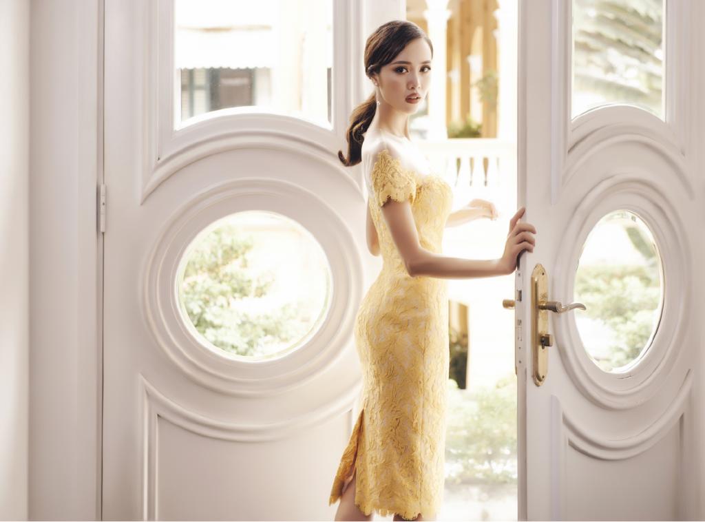 Vũ Ngọc Anh mặc thiết kế Lê Thanh Hòa - 06